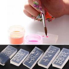 Nail Art  3D GEL Acrylic Powder Silicone Manicure Mould Set Nail Design