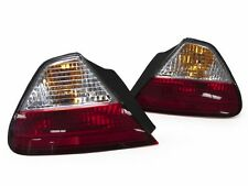 DEPO 98 99 00 01 02 Honda Accord 2D Coupe JDM Red Clear Outer 2 pcs Tail Lights
