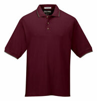 Tri-Mountain Men's Big And Tall Two Tone Collar Golf Shirt LT-6XLT. 116-Tall