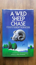 Haruki Murakami – A Wild Sheep Chase (1st US 1989 hb with dw) Pinball