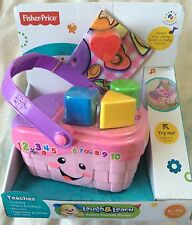 FISHER PRICE LAUGH & LEARN SWEET SOUNDS PICNIC BASKET ~ NEW IN BOX
