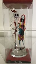 NIGHTMARE BEFORE CHRISTMAS SANTA JACK SALLY WATER GLASS Holiday BEER PILSNER 9""