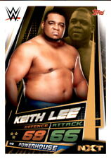 WWE Slam Attax 12 Universe Karte 119 Keith Lee NXT