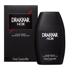 DRAKKAR NOIR BY GUY LAROCHE  6.7 OZ / 200 ML EDT SPRAY MEN'S NIB SEALED COLOGNE