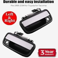 Pair Chrome Front Outside Door Handle Left & Right  for 95-04 Toyota Tacoma 02