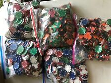 Lot of Poker Chips- Mixed- 47.12lbs- Used!!
