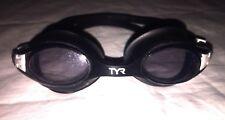 TYR Swim Goggles Black Adult