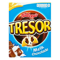 Kellogg's Tresor Milk Chocolate Original Kelloggs Breakfast Cereal 375G