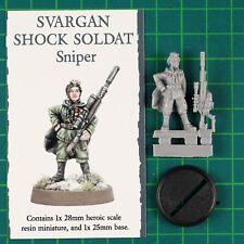 Svargan Shock Soldat Female Sniper Galaxy's Finest Victoria Miniatures VM0141