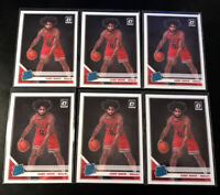 2019-20 Donruss Optic Coby White (6) Card Lot Rated Rookie Chicago Bulls #180 RC