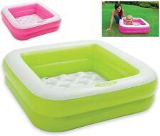 Bañera hinchable Piscina inflable para niños bebe intex suelo acolchado