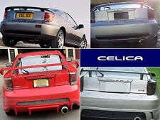 BLACK TOYOTA CELICA BUMPER LETTERS NOT DECALS REAR INSERTS TAILGATE SET
