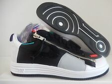 NIKE LUNAR FORCE 1 SP / ACRONYM BLACK-WHITE-GREEN-PURPLE SZ 14 [698699-002]