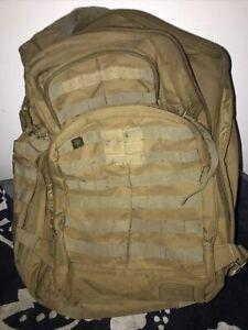 SOG Barrage Tactical Internal Frame Backpack 64.3-Liter Storage Brown