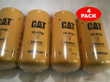 4 Pack NEW CAT FUEL FILTERS 1R-0750 / MADE IN USA / CATERPILLAR OEM 1R0750