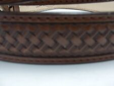 #167 SHOW BROWN RANGER BELT Offered by BLUEHORN CUSTOM LEATHER