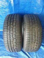 2 x Winterreifen Reifen Continental WinterContact TS830P 225 55 R17 97H 6,5 mm