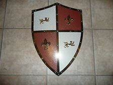 Medieval Shield Royal Crusader Lion Knight European