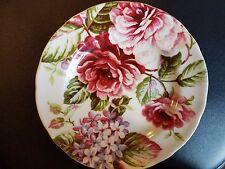 "222 Fifth PTS International HEIDI  Porcelain Salad  Plate Scalloped  8 3/4"""