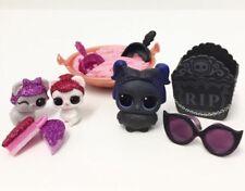 LOL SURPRISE PETS Series 4 EYE SPY Pet. Sugar Squeak, Sugar Sneak And Dusk Raven