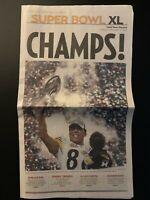 Pittsburgh Steelers Super Bowl XL Valley News Dispatch Newspaper