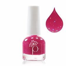 Princessible - Children Nail Polish - Nelly Nectar (PinkGlitz): washable & safe