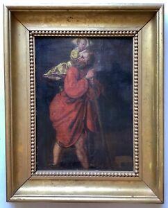 17th Century Old Master Oil Painting Saint Christophe Follower ALBRECHT DURER
