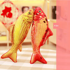 Soft Plush Colored Fish Throw Pillow Waist Cushion Sofa Bed Decor Gift Novelty