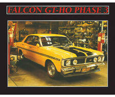 New Ford Falcon GT HO Phase 3 Memorabilia Framed