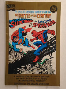 DC Comics Marvel SUPERMAN VS. THE AMAZING SPIDER-MAN (1995) Reprint