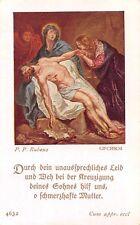 "Fleißbildchen Heiligenbild Andachtsbild Holy card ars sacra""H1999"" MESSOPFER"