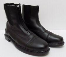 TuffRider Womens Starter 3042 Front Zip Paddock Boots Size 11
