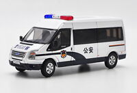 1/64 GCD Ford Transit Van Police Car Diecast car Model Toy Collection Gift