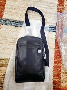 Coach Mens (89934) Black Sling Pack Bag Retail:$350