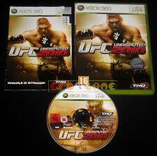 UFC UNDISPUTED 2010 XBOX 360 Versione Italiana 1ª Edizione ••••• COMPLETO