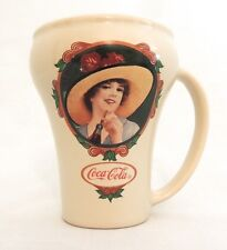 Ladies Of Coca Cola Mug Cup Coke Brand Mug Hand Made Ceramic Vintage c 1990