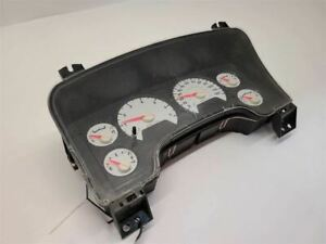 06 2006 DODGE 1500 PICKUP Speedometer Cluster Excluding SRT10 MPH