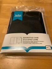 Kobo Touch eReader Cover Bookstyle Case Black  - 681495000524
