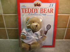 The Teddy Bear Collection Magazine # 21 Tim the Tennis Player Brand New Packet