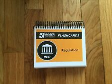 NEW! ROGER CPA REVIEW flash cards 2019 REG