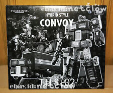 Transformers TomyTakara Hybrid Style THS-02 Black Optimus Prime Limited in Stock