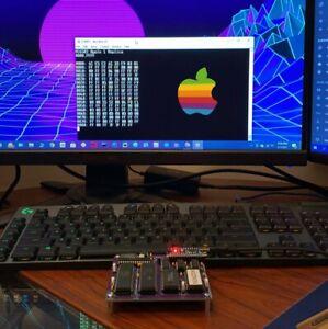 APPLE 1 8 BIT HOMEBREW COMPUTER SOLDER BUILD KIT - PCB, ALL MATERIALS & CHIPS!!