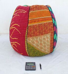 5Handmade Quilted Cotton Floral Bohemian Home & Living Bean Bag Chairs BD95