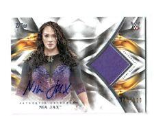 WWE Nia Jax 2019 Topps Undisputed Autograph Shirt Relic Card SN 118 of 120