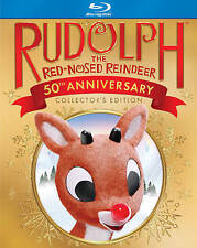 Rudolph the Red-Nosed Reindeer (Blu-ray Disc, 2014, 50th Anniversary) NEW