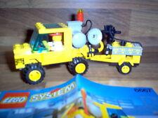 LEGO System Set 6667 - Pothole Patcher / Road Repair Car + 1 figurine 1993 Rare
