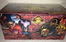 Overpower Marvel Monumental CCG Fleer Starter Box - Factory sealed
