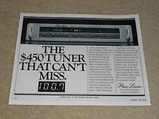 Phase Linear 5100 II Tuner Ad, 1979, Article, 1 page