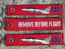 L-39 Albatros  REMOVE BEFORE FLIGHT 3er SET Keychain /Avion / Aircraft / YakAir