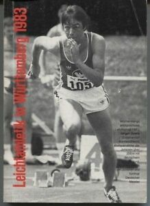 WLV-Jahrbuch 1983 - Leichtathletik in Württemberg
